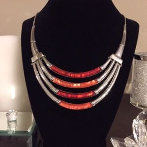 Jewelry - Necklace:🔥2/$40 Red Chroma Bohemian Style